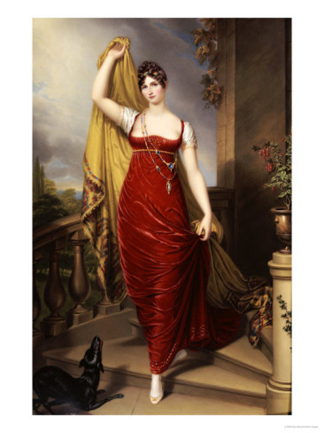 The Honorable Mrs. Thomas Hope by Henry Bone 1813